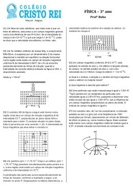 Questionário Recuperação Semestral 02