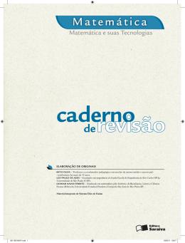 Matemática de - Saraiva S/A Livreiros Editores