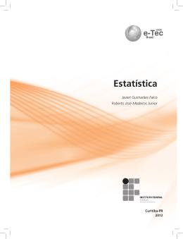 Estatística - Rede e-Tec