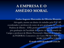 Carlos Augusto Marcondes de Oliveira Monteiro