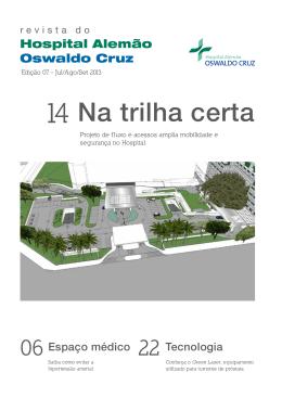 Na trilha certa - Hospital Alemão Oswaldo Cruz