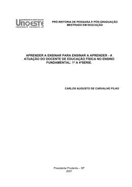 DISSSERTACAO_ Carlos Augusto Carvalho - início