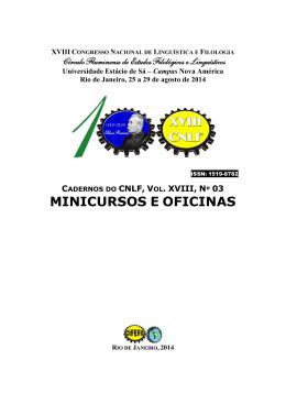 volume completo - CiFEFiL - Círculo Fluminense de Estudos