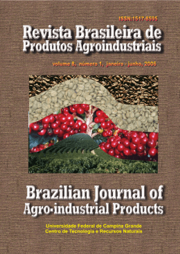 baixar revista completa - RBPA – Revista Brasileira de Produtos
