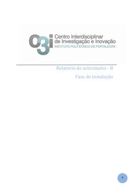 Parte B - C3i - Instituto Politécnico de Portalegre