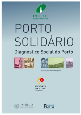 Diagnóstico Social do Porto | 1