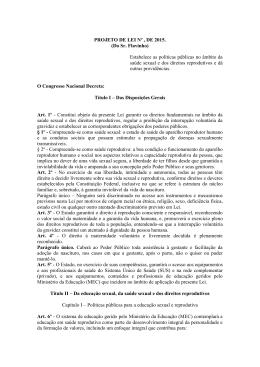 PROJETO DE LEI Nº , DE 2015. (Do Sr. Flavinho) Estabelece as