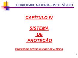 4.1 – proteção de estruturas - conceitos