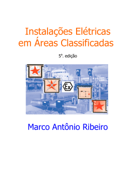 Instalacoes Eletricas em Areas Classificadas