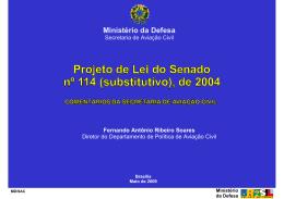 Exposição do Sr. Fernando Antônio Ribeiro Soares