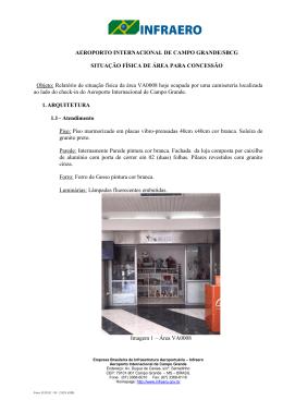 AEROPORTO INTERNACIONAL DE CAMPO GRANDE