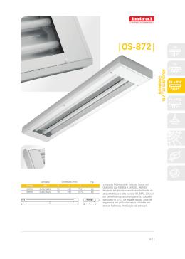 rias Linha OS 8, SS 8, ES 8, VS e CAD