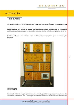 Clique aqui e faça o do catálogo DLB 642S
