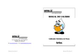 Calibrador de Pneus ArFox CP2 - Control-Liq