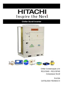 Manual de Instalação e Operação Chiller SCROLL IHCT2