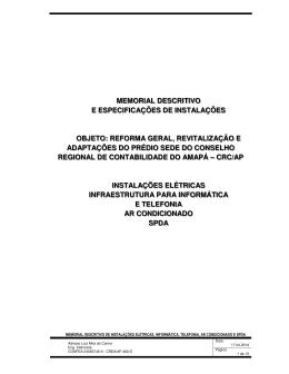 MD E ESP TEC INSTALACOES ELET-LOG-TEL