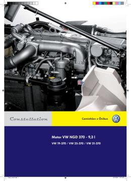 Motor VW NGD 370 - 9,3 l