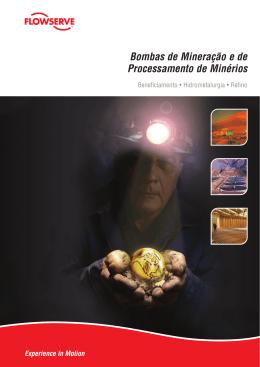Bombas de Mineração e de Processamento de Minérios