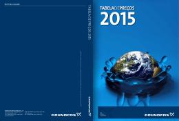Tabela de Preços GRUNDFOS 2015