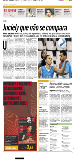 Materia_Juciely_OGLOBO - Leo Cunha Marketing Esportivo