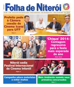 `Chique` 2014: - Folha de Niterói