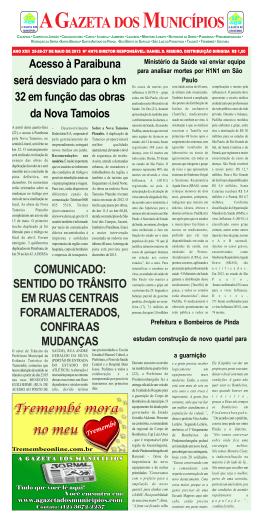 Pindamonhangaba - A Gazeta dos Municípios