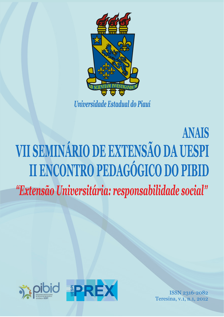 ANAIS VII Seminário de Extensão e II Encontro Pedagógico do PIBID ae62236cb84fd