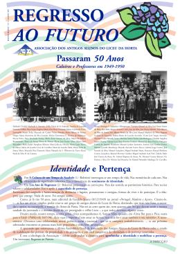 REGRESSO AO FUTURO - Associação Antigos Alunos Liceu da Horta