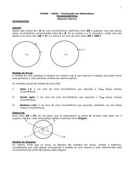 CM A Resumo Trigonometria I