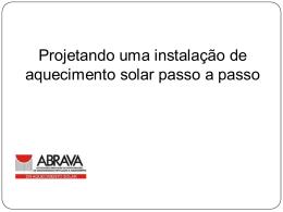 Curso Projetos Solares