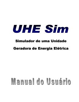 Simulador de uma Unidade Geradora de Energia Elétrica