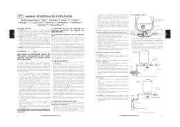 Tank Installation and Operation Manual M-MT1