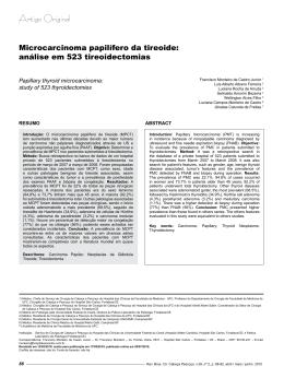 Artigo 01 - Sociedade Brasileira de Cirurgia de Cabeça e Pescoço