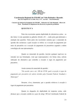 respostas aos recursos - Tribunal Regional Federal da 2ª Região