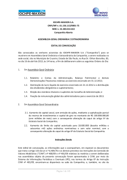 IOCHPE-MAXION S.A. CNPJ/MF n. 61.156.113/0001