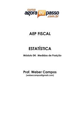 AEP FISCAL ESTATÍSTICA