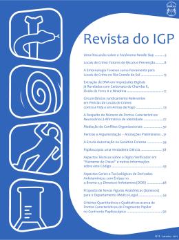 nº 4 - jan/2011 - Instituto Geral de Perícias