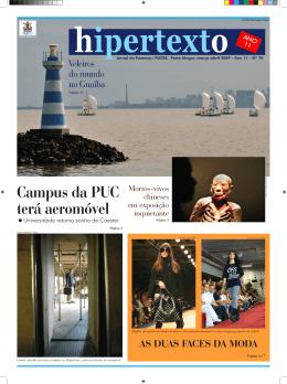 Campus da PUC terá aeromóvel