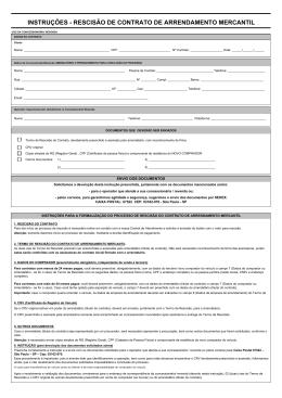 Carta de Opção Banco ITAU Leasing