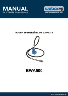 BWA500_Peças