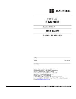 baumer - Anvisa