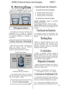 Química(Ciência da Natureza e Suas Tecnologias) Apostila II
