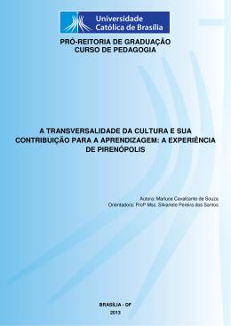 Marluce Cavalcante de Souza - Universidade Católica de Brasília