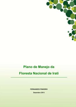 PLANO DE MANEJO DA FLORESTA NACIONAL DE IRATI