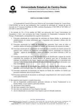 Universidade Estadual do Centro