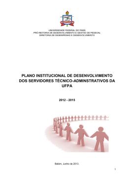 plano institucional de desenvolvimento dos servidores
