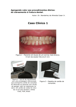 do clareamento à fratura dental