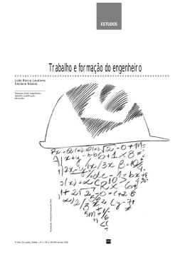 Trabalho e formação do engenheiro - Revista Brasileira de Estudos