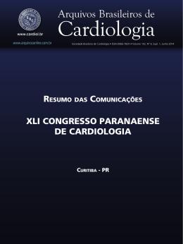 XLi ConGResso PaRanaense de CaRdioLoGia