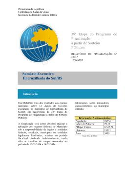 RM039047-Encruzilhada do Sul - RS - Controladoria